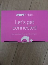 Broadband router brand new