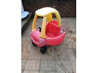 Little Tikes Cosy Coupe - faded but functional