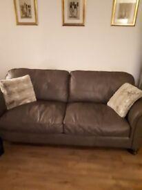 Taupe 3 settee sofa