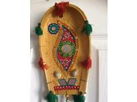 Hand made Indian hanging decor set