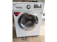LG Washer Dryer Combi (white and silver)