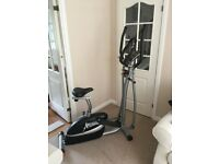 V-Fit 2-in-1 Combo Cycle/X Trainer -MCCT1 Excellent Condition