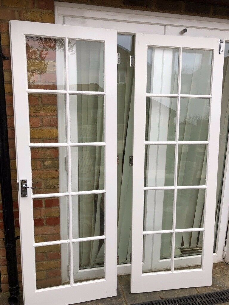 Double Glass Panelled Doors In Burgess Hill West Sussex Gumtree