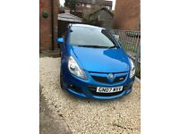 VAUXHALL CORSA VXR, ARDEN BLUE, GENUINE LOW MILEAGE, FSH, HPI CLEAR+COURTNEY REMAP+REMUS EXHAUST