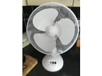 Two great medium white fans - buy one or both!