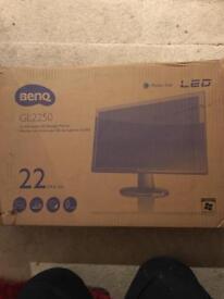 "BenQ GL2250 22"" LED backlight monitor."