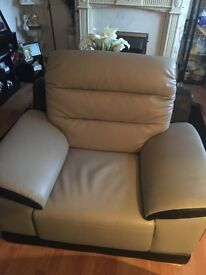 One seater grey/black free to collect
