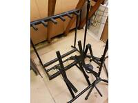 Job lot of music stands
