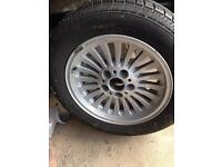 BMW 5 series alloy as new, with 225/55/16 as new tyre