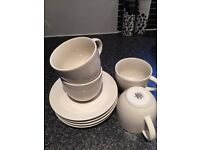 M&S set of 4 Cups & Saucers for sale vgc