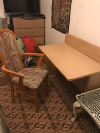 Desk and chair for sale!