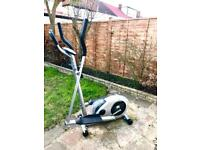 body sculpture be 6600 magnetic elliptical strider gym exercise machine