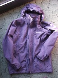 Sprayway Womens TL Nevada Hiking Coat / Jacket Medium