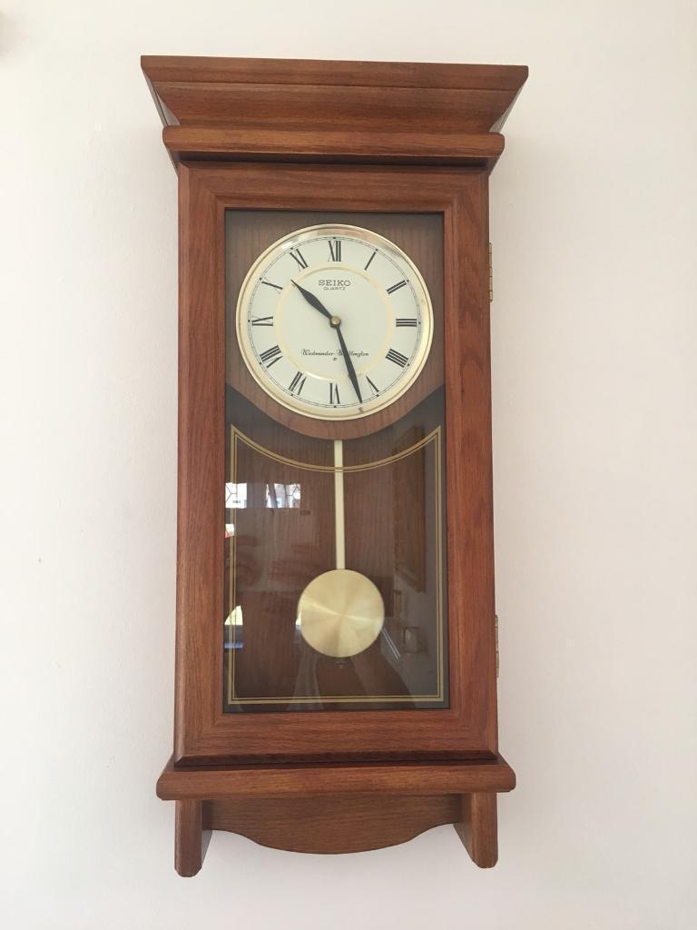 Reduced Seiko Chime Strike Clock