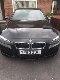 BMW 318D M Sport (s/s) 4dr FSH HEATED LEATHER SEATS