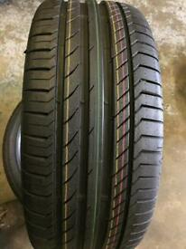 1 tyre for sale 235-45-17 continental £85 call 07860431401
