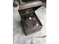 Wind up Gramophone