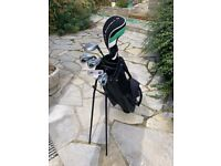 Set of 6 Young Gun golf clubs for 12-14 yrs