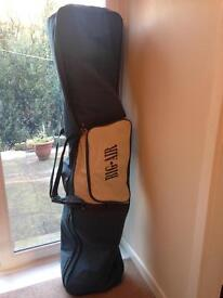 Austrian eagle snowboard with boots, bindings, helmet and bag