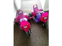 MY FIRST MOTOR BIKE~PINK GIRLS VERSION~BATTERY OPERATED