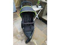 Hauck Runner, foldable, 3-wheel pushchair buggy