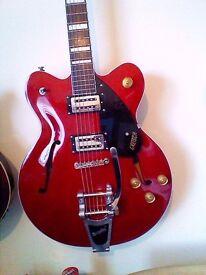 Gretsch streamliner guitar