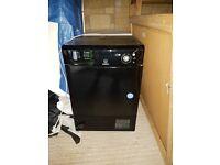 Black indesit dryer