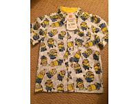New cute boys shirt minions 5-6 Y