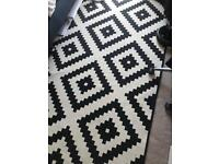 Lovely Ikea monochrome Rug