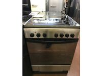 60CM STAINLESS STEEL INDESIT ELECTRIC COOKER
