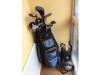 Complete beginners golf set