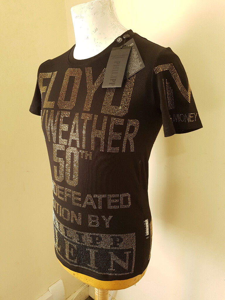 3bd7cc944f517 Philipp Plein Floyd Mayweather Limited Edition T-Shirt - Size   SMALL