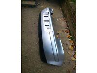 mk4 volkswagon golf gt rear bumper silver