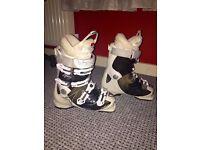 Ladies Atomic Hawk Ski Boots Size 25/25.5 uk 6/6.5