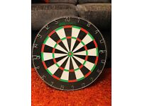 Mighty Mike Flocked Home Dartboard Dart Game
