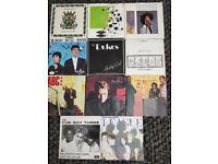 Singles - a selection of single vinyls from the 80s