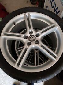 "18"" VW wheels"