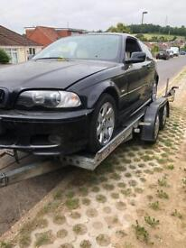 Bmw 325i sport coupe breaking