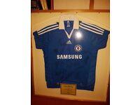 Signed 2008 Chelsea Football Shirt