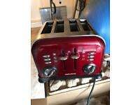 Morphy Richards 4 slice toaster