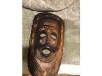 Authentic African mask for sale