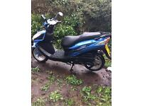 Lexmoto FMR 125 Scooter 16 plate