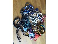 Costume Jewellery - Assorted Beaded Necklaces and chokers