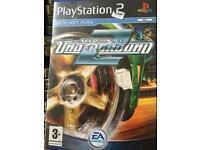PS2 game Need for speed 2 underground £3