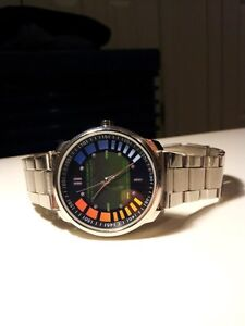 FAST SHIPPING - GoldenEye 007 James Bond Wristwatch N64 Watch Video Game *USA*