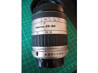 Pentax SMC 28 - 80mm Lens - Pentax K Fitting - PK