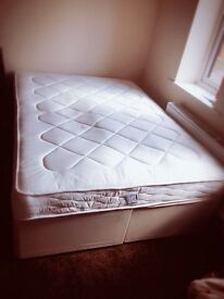 Brand New Double bed with Mattress.(Make Dreams)
