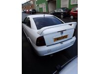 Vauxhall ASTRA PETROL COUPE 2002 breaking for Parts