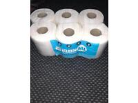 Kitchen tissue rolls gym use for everything