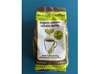 ORZO coffee (caffeine-free alternative)